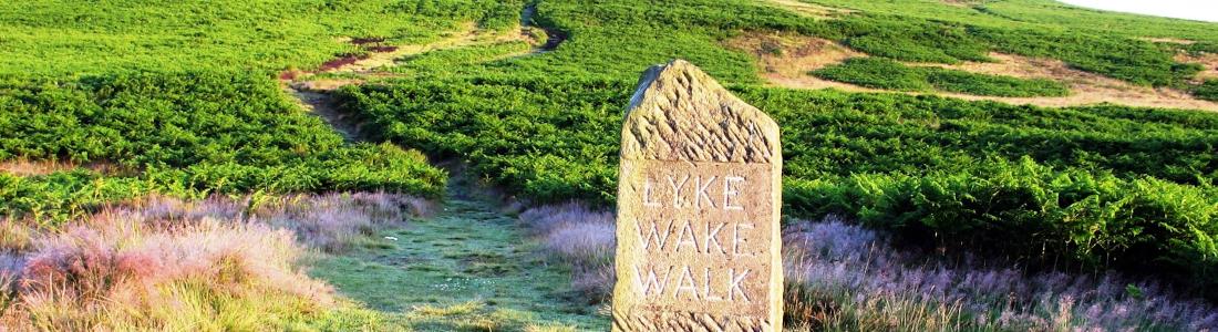 lyke wake walk banner